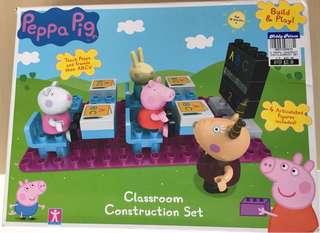 Peppa Pig - Classroom blocks