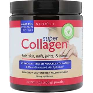 SALE AVAILABLE Neocell, Super Collagen, Type 1 & 3, 7 oz (198 g) smooth skin