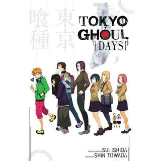 [PRE-ORDER] Tokyo Ghoul: Days by Shin Towada