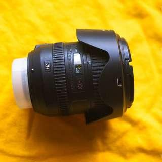 Lensa Nikon AFS 16-85mm F3.5-5.6 G VR ED