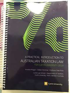 Australian taxation law