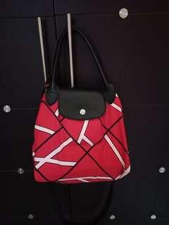 Longchamp geo print