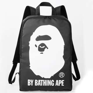 『 A BATHING APE 』2015 秋 冬日本雜誌猿人頭Bape背包 Backpack Knapsack
