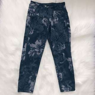 *REDUCED*  Floral Capri Leggings  // Old Navy