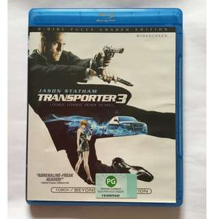 Transporter 3 Blu Ray