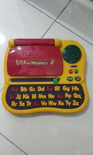VTech flip for phonics(education learning)