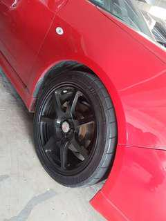 OZ Rims & bridgestone tyres 225/45/R17