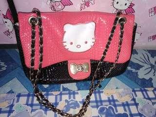 Kimbel and hello kitty bag