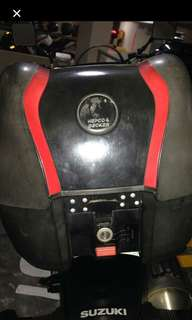 Hepco top box for sale with base plate