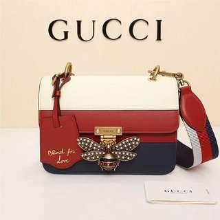 Gucci Butterfly Blind For Love Crossbody Bag Shoulder Bag