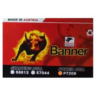 (請先詢價) 紅牛 Banner P7209 汽車電瓶