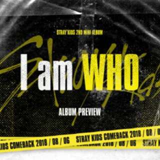 [PREORDER] Stray Kids 2nd Mini Album - I Am Who