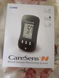 Caresens N blood glucose monitoring