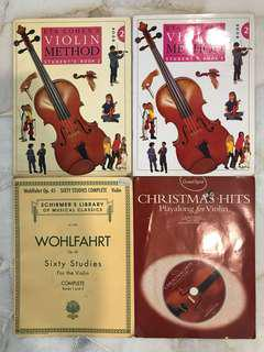 Violin Music Books #july100