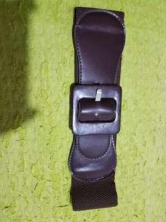Brown Garterized Belt