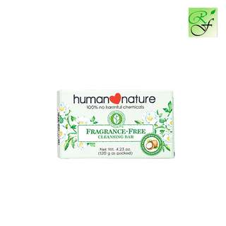 Human Nature Cleansing bar Fragrance free 120g