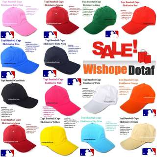 Grosir Topi Baseball Caps Eksklusive
