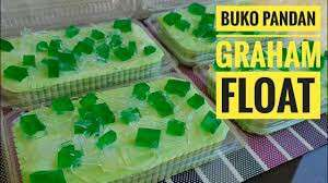 Repriced! Buko Pandan Graham Float