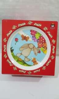 Children Bowl, Cup, Plate - Bashful Bunny Melamine Set