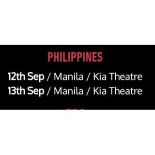 Dan & Phil 2018 World Tour Sept 13 VIP meet & greet