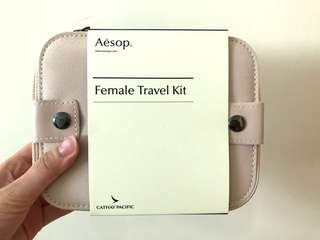 Aesop x Cathay Pacific Female Travel Kit