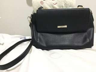 VNC Black Sling Bag