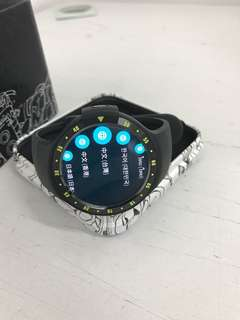 """98%New Ticwatch S Smartwatch 1.4"""" OLED Android Wear 2.0 Black"""