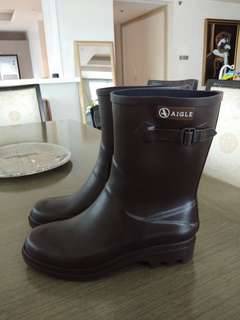 Authentic AIGLE Boots for Men water proof, rubber shoes boots