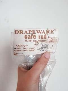 "PRICE DROP!! Drapeware Curtain Rod 28"" to 48"""