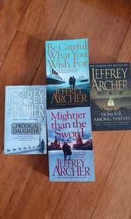 4 books by Jeffrey Archer