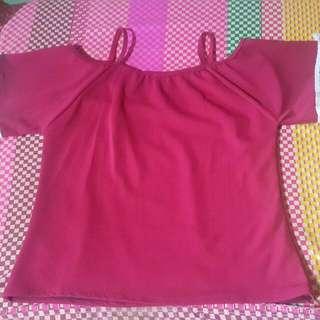 Off Shoulder Blouse (Plus Size)