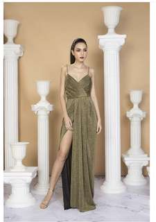 FOR RENT: Style Staple Gold Dress