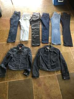 Women's Levi's Jeans and Jackets