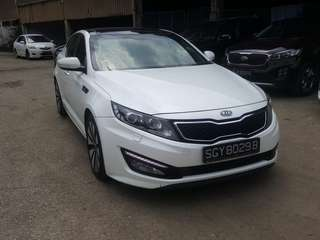 Kia Optima K5 🇸🇬 Full spec