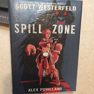 🚚 SCOTT WESTERFIELD SPILL ZONE COMIC GRAPHIC NOVEL