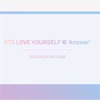 ✨代購✨防彈少年團💜BTS Love yourself 結 answer 專輯 SELF 4版一套✨