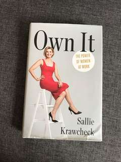 Own It by Sallie Krawcheck
