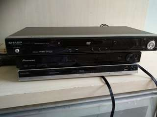 Sharp/ Pioneer / Phillips DVD players