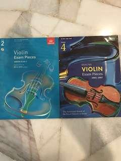 ABRSM Violin Exam Pieces Grade 2 & 4 #july100