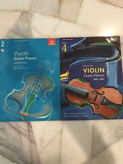 ABRSM Violin Exam Pieces Grade 2 & 4 #july100