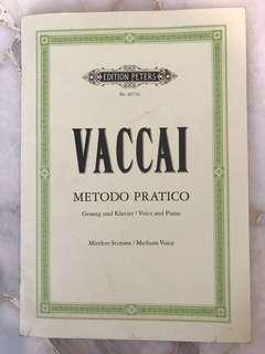 Vaccai Pieces for Trinity Vocal Exams #july100