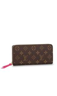 Authentic Brand New LV Clemence Wallet in Momogram Canvas