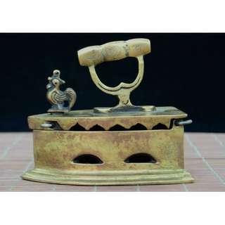 古時熨鬥 古銅制 舊時收集 古時用具