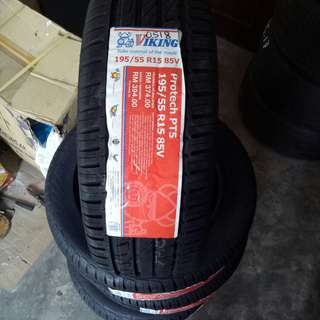Viking New Tyre 195/55R15