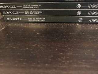 Monocle Volume 1: Issue 5, 7, 8