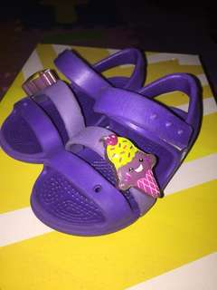 Crocs Keeley Sandals in Purple