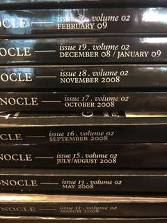Monocle Volume 2: Issues 11, 13, 15, 16, 17, 18, 19, 20