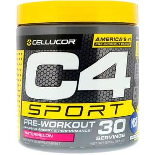 Cellucor, C4 Sport, Pre-Workout