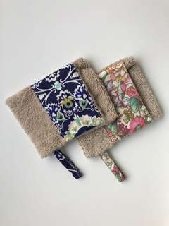 Hand made soap pouches