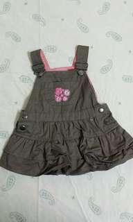 Sprout skirt jumpsuit